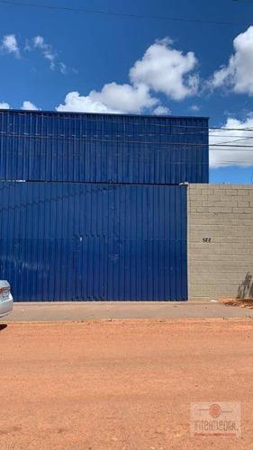 Imagem 1 de 10 de Galpão Para Alugar, 880 M² Por R$ 8.000,00/mês - Nova Tatuí - Tatuí/sp - Ga0116