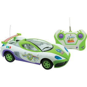 Carrinho Controle Remoto Toy Story Star Race 3funcoes
