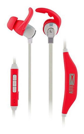 Fone De Ouvido Bluetooth Altec Mzw101 Vermelho Mzw101