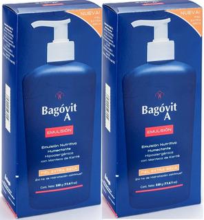 Bagóvit A Emul Humectante Piel Extra Seca X 350 Gr Promo X 2