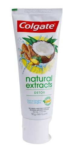Crema Dental Colgate Extractos Naturales Detox X 90g