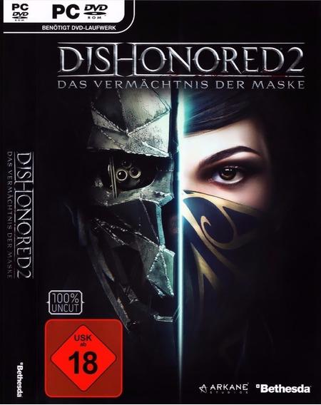 Dishonored 2 Pc Original Frete Gratis !!