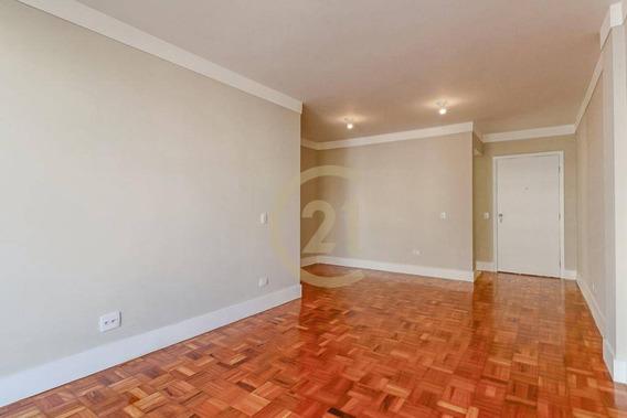 Apartamento Com 2 Dormitórios E 1 Vaga De Garagem À Venda, 88 M² - Santa Cecília - São Paulo/sp - Ap17420