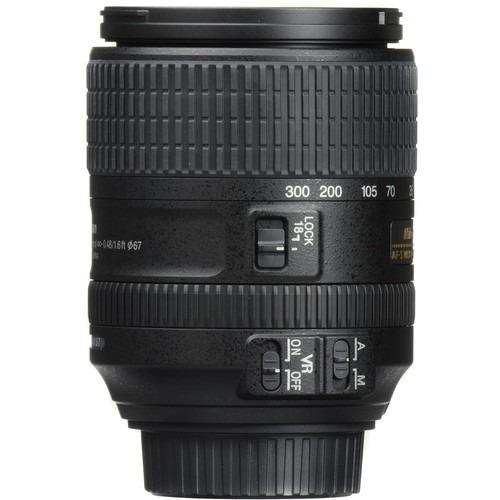 Lente Nikon Dx 18-300mm F/3.5-6.3 Ed Vr