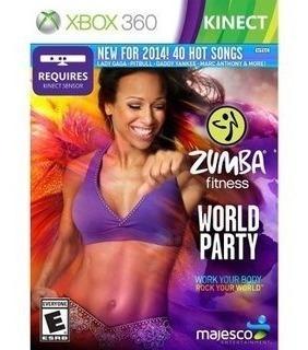 Zumba Fitness World Party Xbox 360 | Mídia Física Original