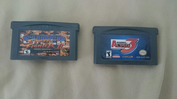 Lote Street Fighter Gameboy Advance Gba
