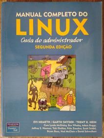 Livro Manual Completo Do Linux - Guia Do Administrador 2. Ed