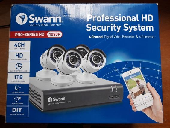 Cámaras De Seguridad Swann. 1080p Hd.