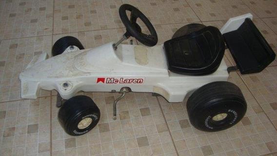 Pedal Car Bandeirante Formula 1 Maclaren