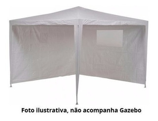 Conjunto De Paredes Tenda Branco Mor 2,40 X 2,40 Usada