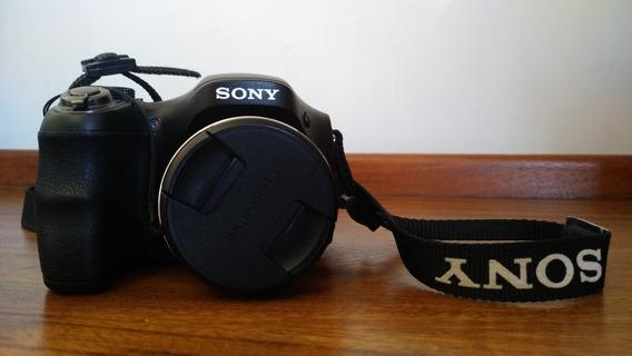 Câmera Semi Profissional Sony Dsc-h100