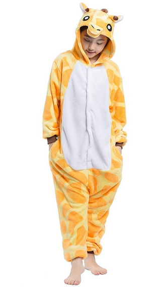 Kigurumi Jirafa Infantil Pijama Mameluco Niña Niño Unisex