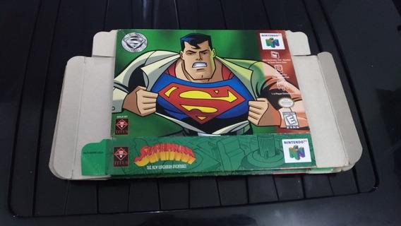 Caixa Superman N64 Original Americano