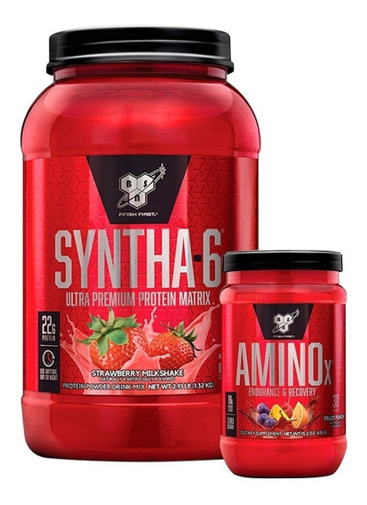 Syntha 6 2,9lb + Amino X 435gr Bsn