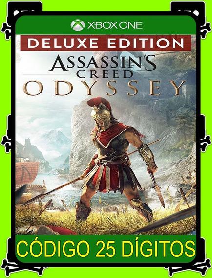 Assassins Creed Odyssey Deluxe Xbox - 100% Original (25 Díg)