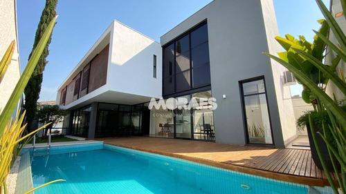 Imagem 1 de 30 de Casa Com 4 Dormitórios À Venda, 362 M² - Condomínio Spazio Verde - Bauru/sp - Ca1896