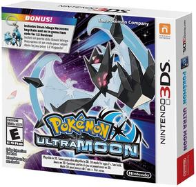 Pokémon Ultra Moon Special Keychain (chaveiro) - 3ds Lacrado