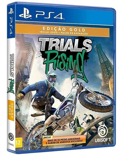 Imagem 1 de 7 de Trials Rising - Edição Gold Ps4 [ Mídia Física E Original ]