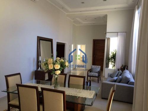 Casa Com 3 Dormitórios À Venda, 250 M² Por R$ 1.350.000,00 - Condominio Golden Park Residence - Mirassol/sp - Ca1482