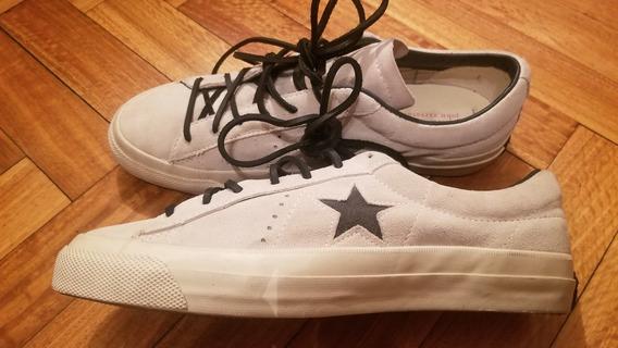 Zapatillas Cuero Converse John Varvatos Star Us 10.5 = 44.5