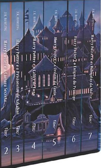 6 Livros Da Coleção Harry Potter. Livros 2, 3, 4, 5, 6 E 7.