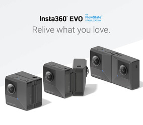 Camera Insta360 Evo - 360 E 180 3d Vr - Lançamento!