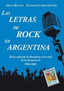 Las Letras De Rock En Argentina - Oscar Blanco
