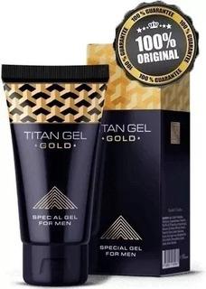 Titan Gel Gold 100 % Original Ruso