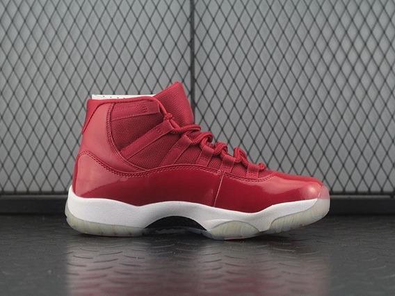 Tenis Air Jordan 11 Retro Gym Red Bbbd Hombre Originales Dam