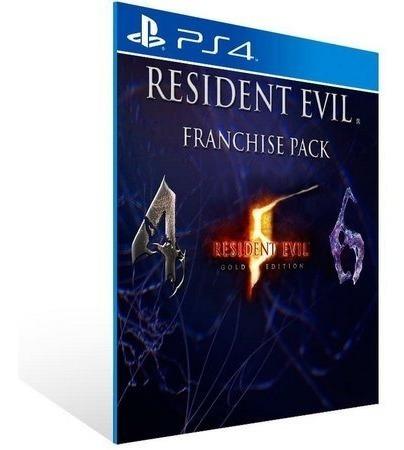 Resident Evil Triple Pack Psn Ps4 Code 1