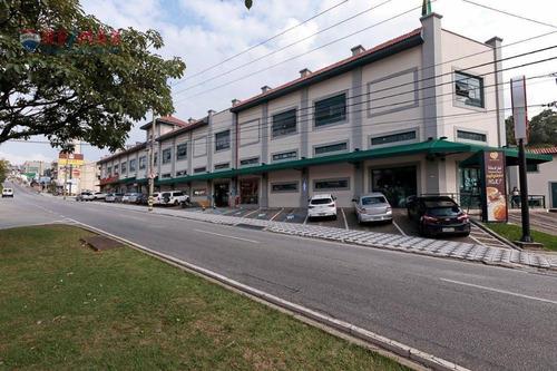 Salão Para Alugar, 62 M² Por R$ 1.900,00/mês - Vila Augusta - Sorocaba/sp - Sl0102