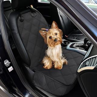 Protector Silla Carro Mascota Negro Gato Perro