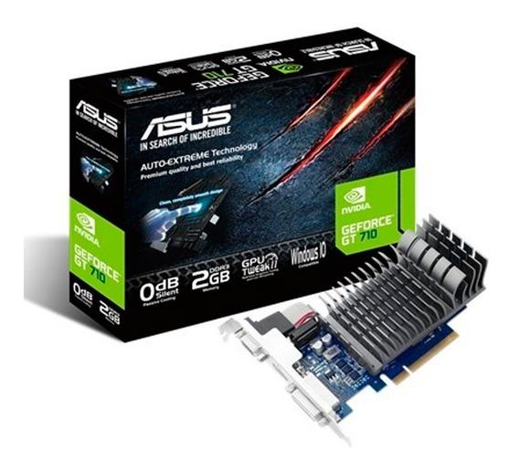 Placa De Video Nvidia Geforce Gt710 2gb Ddr3 Asus Xellers