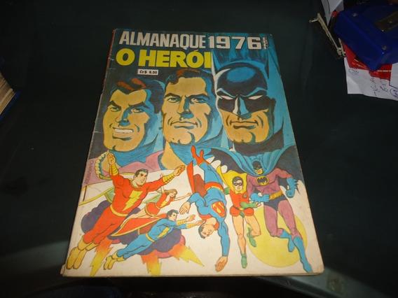 Almanaque O Heroi 1976 Ebal Excelente Batman,superman Shazam