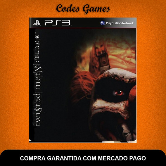 Twisted Metal Black - Classico Do Ps2 - Ps3 - Promoção