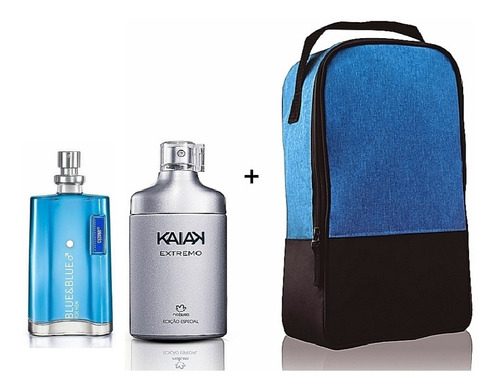 Perfumes Kaiak Extremo Natura Y Blue&bl - mL a $218