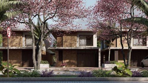 Imagem 1 de 4 de Casa Duplex Com 2 Ou 3 Dormitórios À Venda, 114m² - 173 M² A Partir R$ 550.000 - Ponta Negra - Natal/rn - Ca0407 - Ca0407