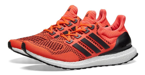 Tenis adidas Ultra Boost 1.0 Solar Orange Originales Nmd Hu