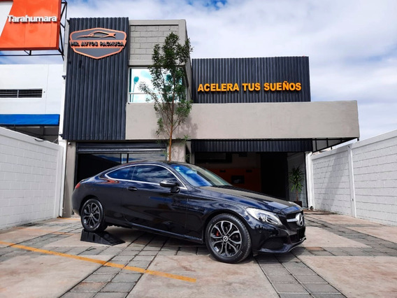 Mercedes Benz C180 2018 Deportivo Coupé Turbo 2p A/t Negro