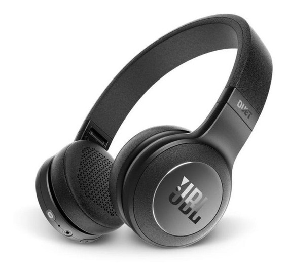 Kit Fone De Ouvido Jbl Duet Bt Headphone Preto 2 Peças