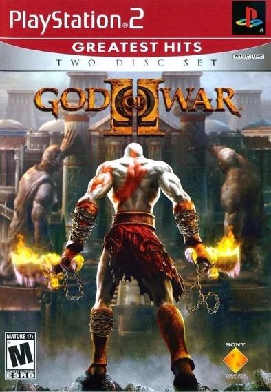 Kit 10 God Of War 2 Ps2 2 Discos Playstation 2 Fgrátis A8389