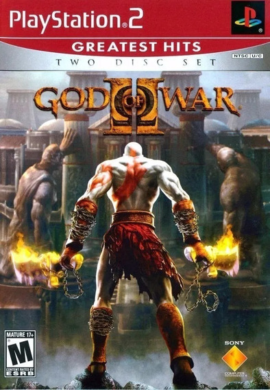Kit 5 God Of War 2 Ps2 2 Discos Playstation 2 Original A8389