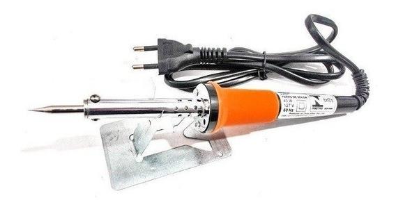 Ferro De Soldar 60 Watts Com Suporte Profissional Eda 127v