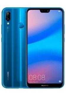 Celular Huawei P20 Lite Ane-lx3 4/32gb Azul Global + Nf