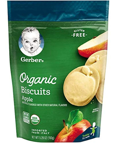 Imagen 1 de 7 de Galletas,  Bizcochos Orgánicos Sin Gluten