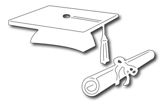 Suaje Cortar Papel Graduacion Troquel Tarjetas Invitaciones