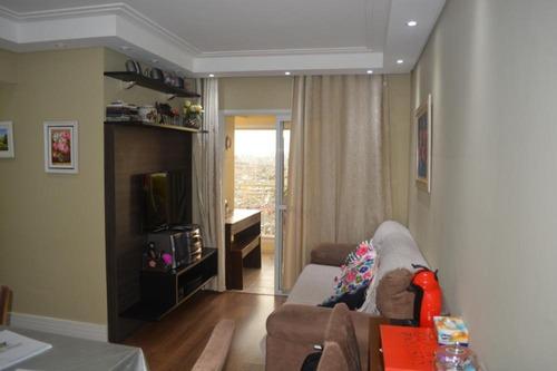 Imagem 1 de 29 de Apartamento Com 03 Dormitórios E 74 M² A Venda Na Vila Das Mercês, São Paulo   Sp. - Ap3063v