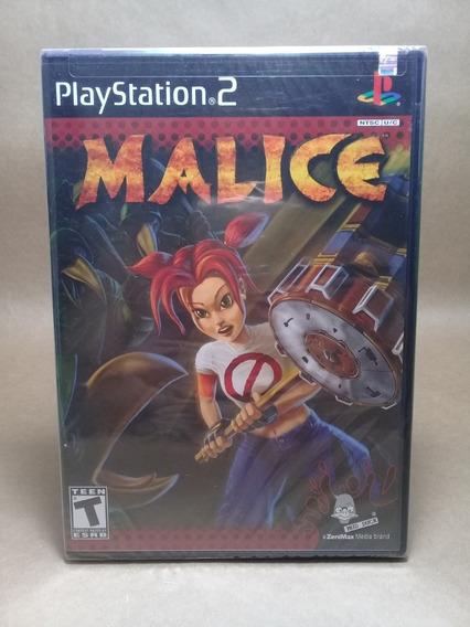 Malice Ps2 Original Lacrado