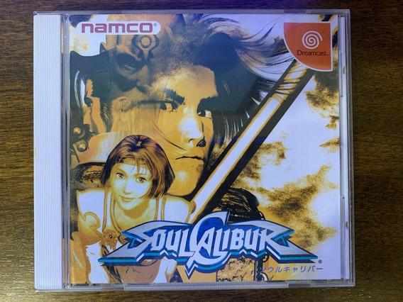 Soulcalibur (sega Dreamcast) Original Japonês Raro
