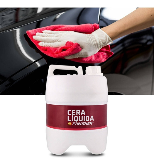 Quick Detail Cera Liquida Automotiva Finisher Galão 5 Litros